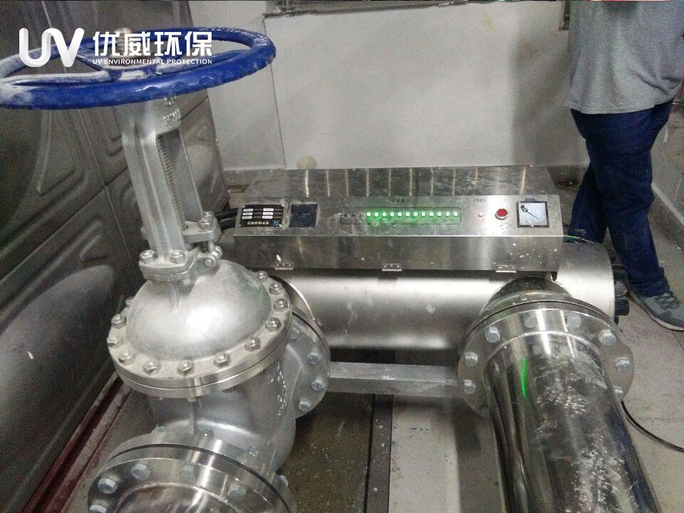 广东深圳宝安机场T3航站楼水泵房紫外线消毒器项目(图1)